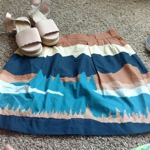 LL Bean Collection Mountain skirt